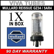 Brand New Tested Mullard Reissue GZ34 / 5AR4 Vacuum Tube