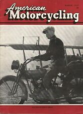 1957 March American Motorcycling - Vintage Motorcycle Magazine Back-Issue