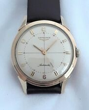 LONGINES GOLD FILLED AUTOMATIC MENS VINTAGE WATCH 19AS