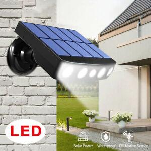 LED Lampe Solaire éclairage Extérieur Détecteur de Mouvement Applique