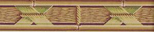 Tropical Basketweave Wallpaper Border 44B38793