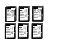 "LOT 6X HDD HP 146GB  2,5"" - 507129-002 507119-003  HDD SAS"