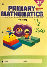 Singapore Math: Primary Mathematics 3B Tests: Standards Edition: Partially Used