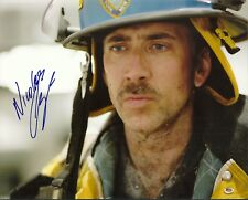 NICOLAS CAGE - THE ROCK - NATIONAL TREASURE -CON AIR 8x10 Signed Photo Autograph
