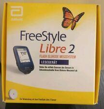 Freestyle Libre 2 Lesegerät ( mg/dl )Neu u. Original verpackt.shipping to E.U.