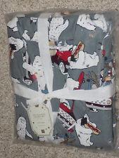 Pottery Barn Teen Yeti Flannel Pajama Set Size Medium