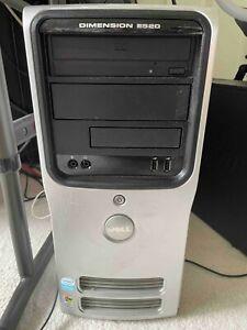 DELL DIMENSION DELL E520 TOWER PC Intel(R) Celeron 3.06GHz, 2.99 GB RAM, 70GB HD