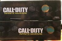 Set of 2 Call of Duty INFINITE WARFARE 4 Pack Shot Glasses Nerd Block Exclusive!