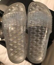 Puma Fenty X Rihanna Jelly Slides Clear Size 5.5 3bee6700f