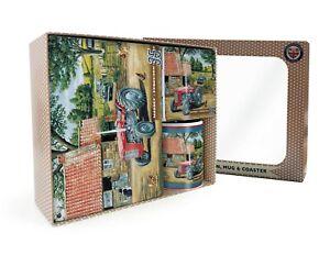 Massey Ferguson 35 Boxed Gift Set inc. Mug + Coaster + Sign (og)