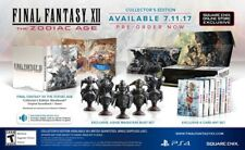 New Final Fantasy XII 12 The Zodiac Age Collector's Edition PS4