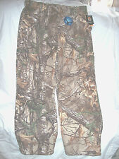 Men Large Camo Pants Scentlok Carbon Alloy Hunting Pants Fleece Pants Windproof