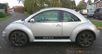 VW BEETLE 1.6 16V 2005 12 MONTHS MOT