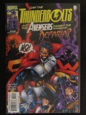 Thunderbolts #44 Hawkeye Black Widow Avengers Marvel Madame Masque Ironman