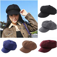 Fashion Womens Ivy Cap Newsboy Beret Cabbie Gatsby Flat Golf Driving Hat Unisex