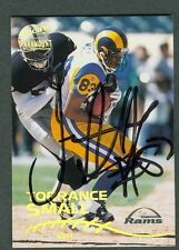 Torrance Small Football Auto 1998 Pacific '98 Signature Autograph Signed #198