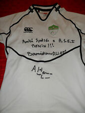 RARE  ALGERIA MATCH WORN RUGBY UNION SHIRT/JERSEY/MAILLOT- LOOK!!
