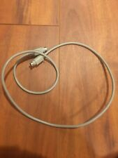 6FT Mini DIN 8 Pin Serial RS-232 Extension Cable 28AWG MDIN 8 Pin M/F Device Mac