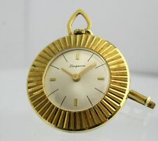 DUGENA GERMANY GOLD COLOURED VINTAGE PENDANT HIGH QUALITY LADIES DRESS FOB WATCH
