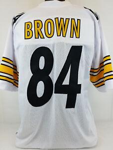 Antonio Brown Unsigned Custom Sewn White Football Jersey Size - L, XL, 2XL