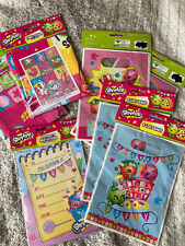 Shopkins Party Supplies Bundle Invites Loot Bags Tablecloth Invitations
