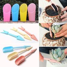 Mini  3Pcs Flower Planting Garden Hand Tools Transplanting Tools Succulent Tools