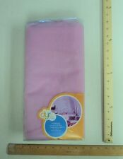 Girl Bedroom 4 Panel Pink Sheer Bed Canopy w/ Sequin Detail * New In Box *