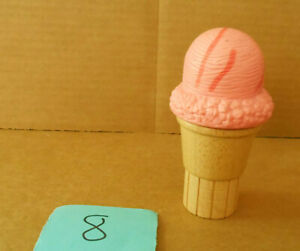 Wooden Melissa and Doug Strawberry Ice Cream Cone Replacement  B8