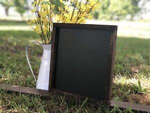Chalkboard Sign, DIY Signs, Sign Blanks, Framed Blackboard, Farmhouse Decor,