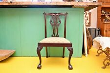 Mahogany Chippendale Chairs Late 1800's