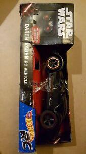 Hot Wheels Star Wars Darth Vader RC Vehicle Disney 1:18 Scale