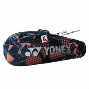 Yonex SUNR LRB06MS Synthetic Badminton Kitbag (Grey/Orange) badminton kitbag