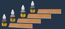 KME 8 Piece CBN and Kangaroo Strop Set - 4 of 1x4 roo strop, 4 CBN Emulsions New