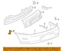 Pontiac GM OEM 95-99 Sunfire Rear Bumper-Bumper Cover Bracket Right 22595538