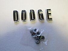 Mopar 67 Charger Coronet  DODGE Hood Letters Emblems 1967 NEW