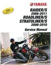 Yamaha XV1900 Raider Roadliner Stratoliner S Motorcycle Service Manual 2008-2...