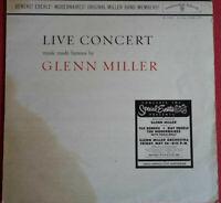Glenn Miller / Live Concert / Music made famous by Glenn Miller LP Vinyl 1960