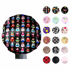 Dilly's Collections MICROFIBRE Shower Cap Comfortable Bath Hair Hat Adult/ Teens