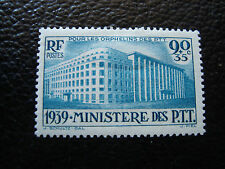 FRANCE - timbre yvert et tellier n° 424 n* (A19) french