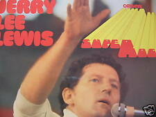 2 LP GATEFOLD JERRY LEE LEWIS - ORIGINAL SUPER ROCK / excellent état