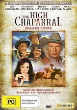 High Chaparral Season 3 NEW R4 DVD