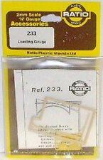 Ratio 233 Loading Gauge. (Plastic Kit) N Gauge Railway Model