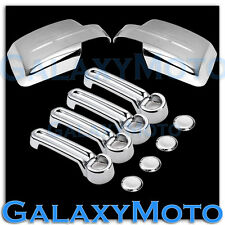 2007-2012 DODGE NITRO Triple Chrome plated ABS Mirror+4 Door Handle Cover COMBO
