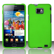 For Straight Talk Samsung Galaxy S II 2 S959G HARD Case Phone Cover Neon Green