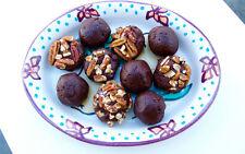 fudge balls with pecans