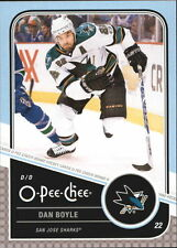 11-12 OPC O-Pee-Chee Dan Boyle Playoff Beards #22 Mint