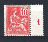 "FRANCE STAMP TIMBRE N° 116 "" MOUCHON 10c ROUGE TYPE II "" NEUF xx TB A VOIR V131"