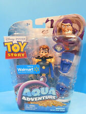 Disney Toy Story 3 Aqua Adventure Woody with Dive Gear  Figure  New!