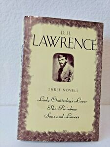D.H. Lawrence three complete novels Rainbow, Sons and Lovers, Lady Cs Lover
