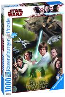 RAVENSBURGER 19680 / 19780 PUZZLE 1000 PIEZAS STAR WARS YODA / Star Wars Heroes
